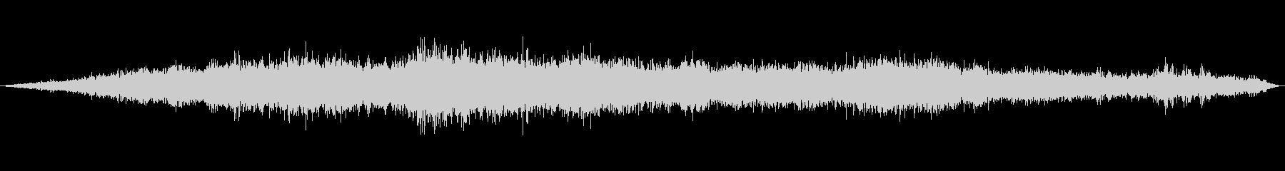 風の効果音(強風、木枯らし、ビル風等)2の未再生の波形