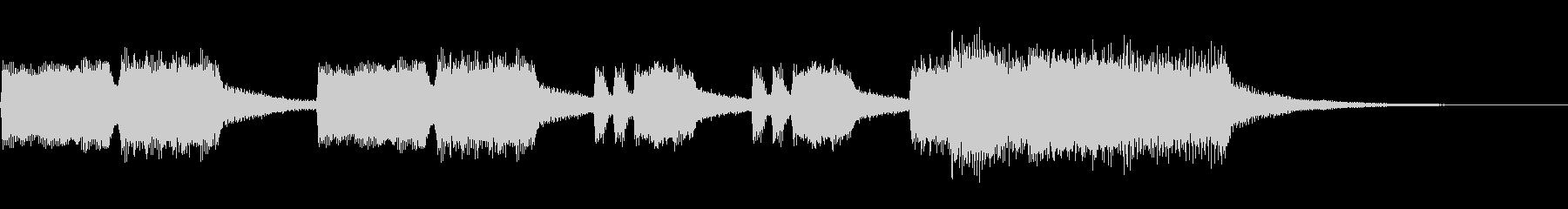 ハレルヤ2~ゆったりしたパイプオルガン~の未再生の波形