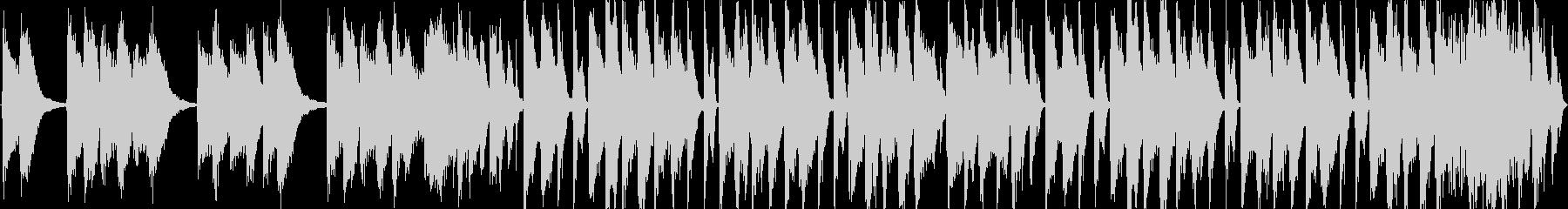 【ポップピアノ×ブレイクビート】の未再生の波形