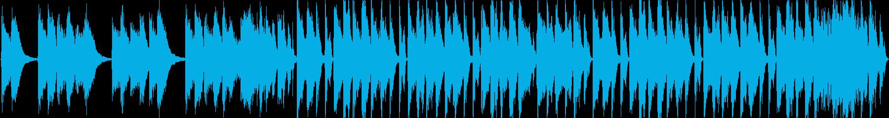 【ポップピアノ×ブレイクビート】の再生済みの波形