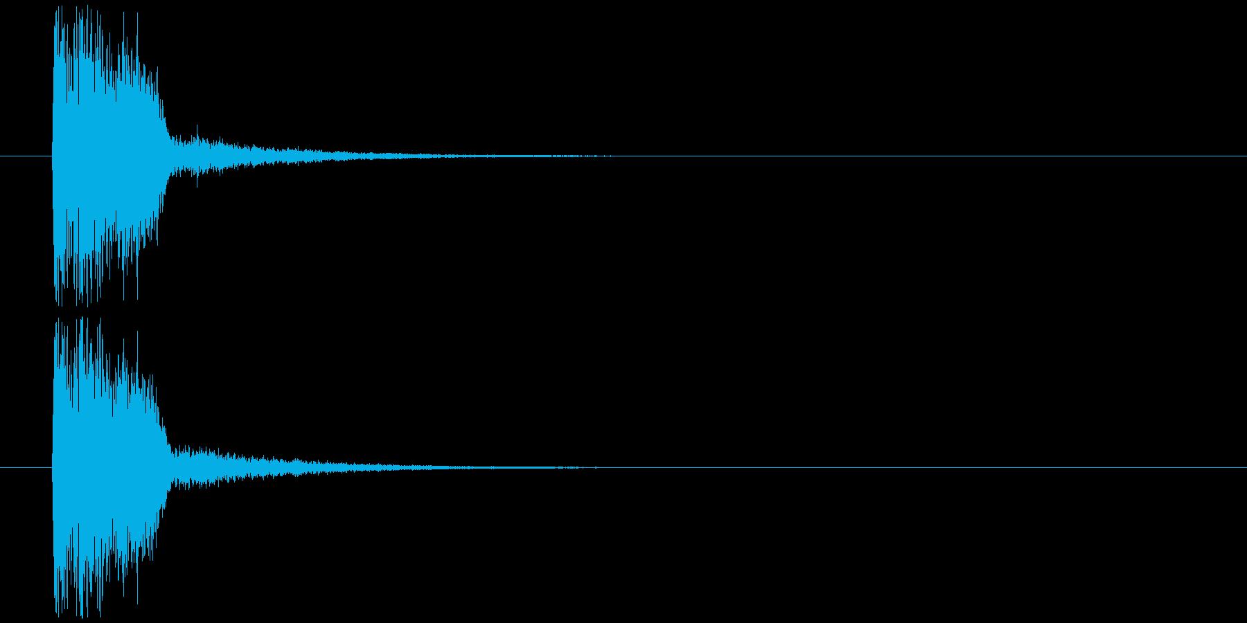 クイズ出題(ウ○トラクイズ風)の再生済みの波形