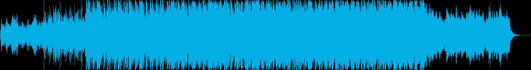 ドリーミーで浮遊感のあるシンセポップの再生済みの波形