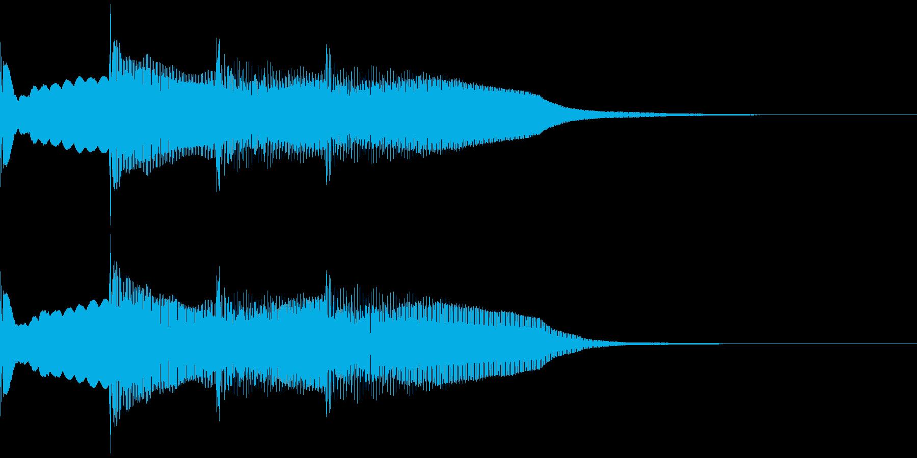 【放送】ピンポンパンポーン↓の再生済みの波形