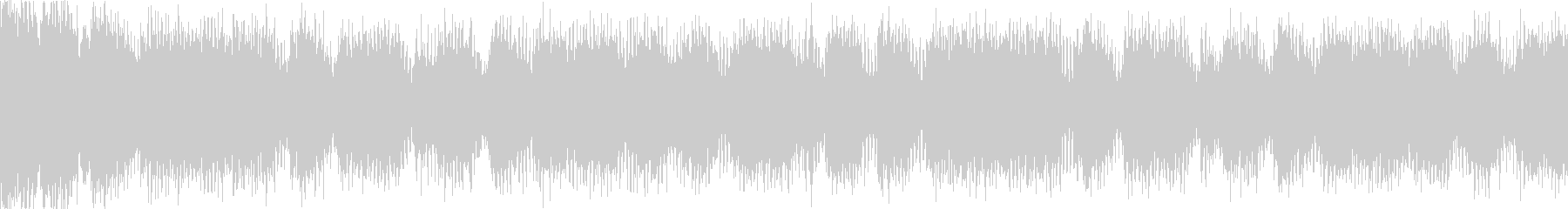 【ループC】ヘヴィーで攻撃的エレキギターの未再生の波形