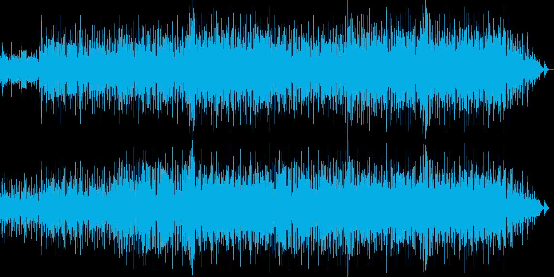 カッコいい感じのクラブミュージックの再生済みの波形