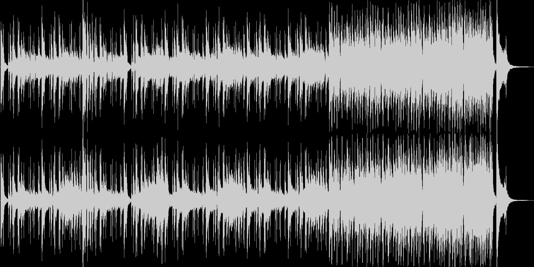 クイズ用カウントダウン音源の未再生の波形