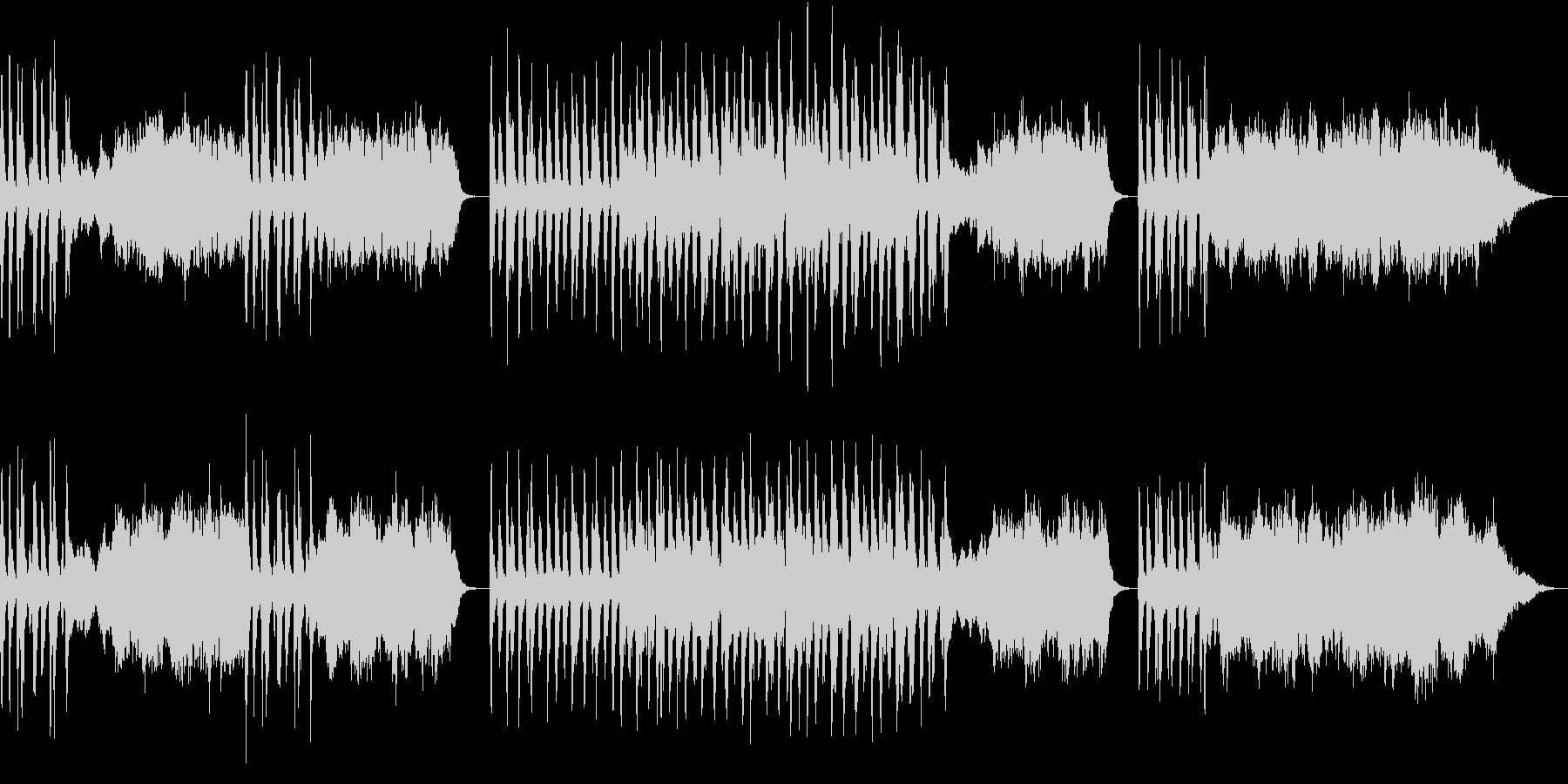 ストリングスとチェンバロのやや暗めな曲の未再生の波形