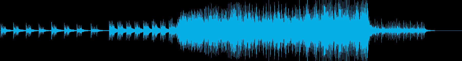 雨をイメージした変拍子ピアノソロの再生済みの波形