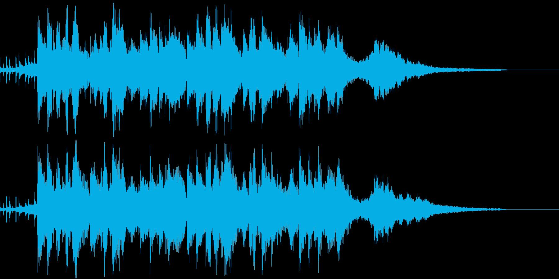 ラジオにピッタリ!おしゃれなジャズピアノの再生済みの波形