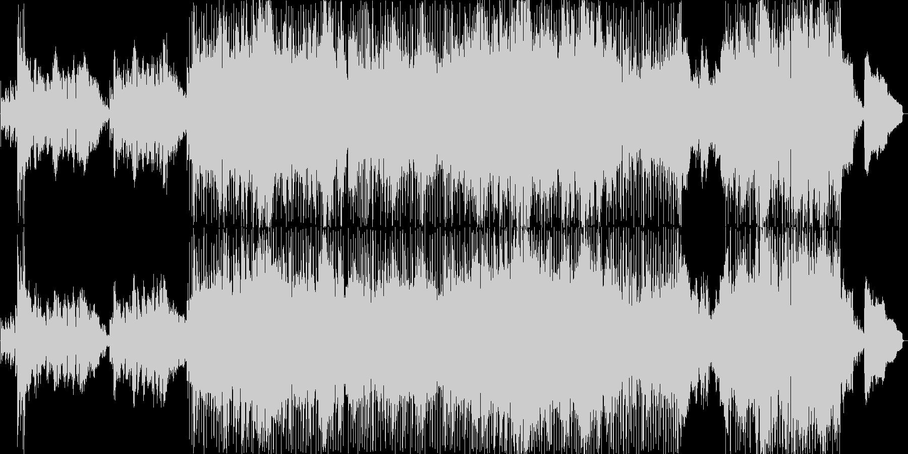 キラキラした印象の明るいバラード2の未再生の波形