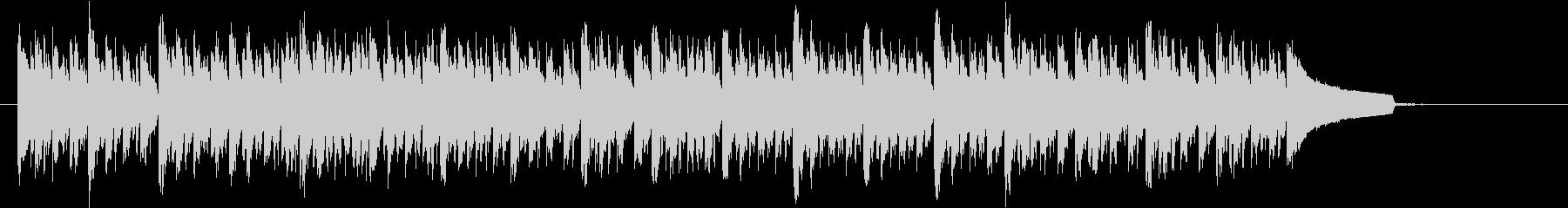 クールな緊張感のあるBGM ショートの未再生の波形