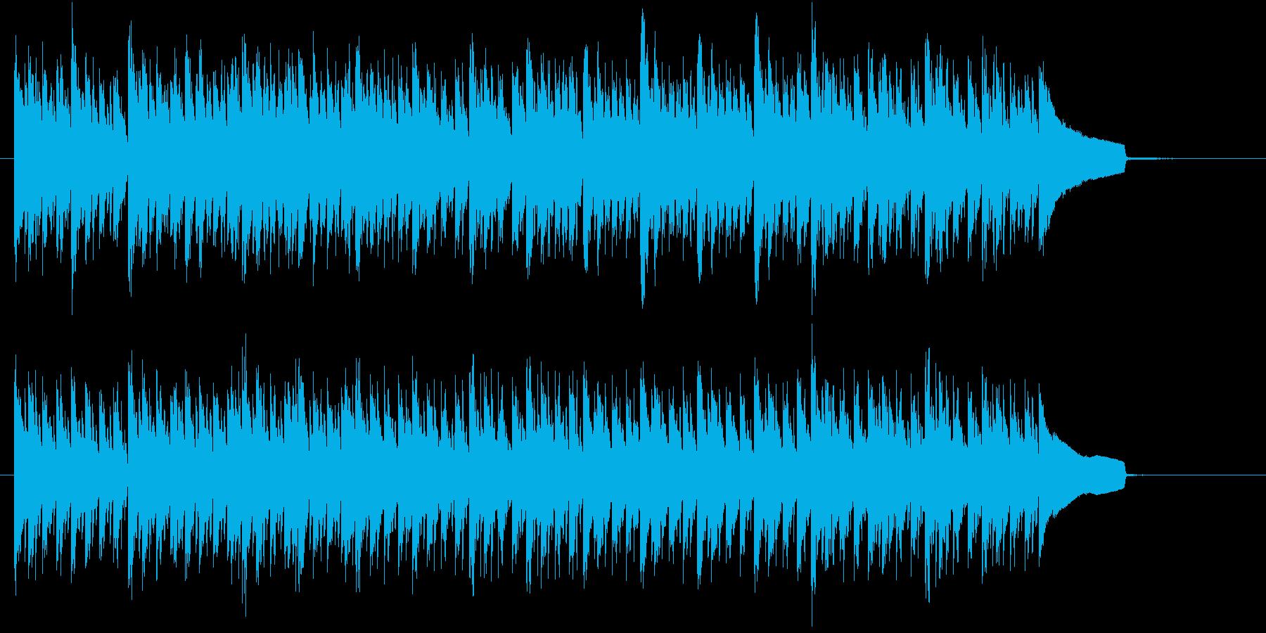 クールな緊張感のあるBGM ショートの再生済みの波形