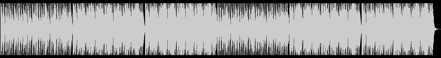 シンプルなハウスの未再生の波形