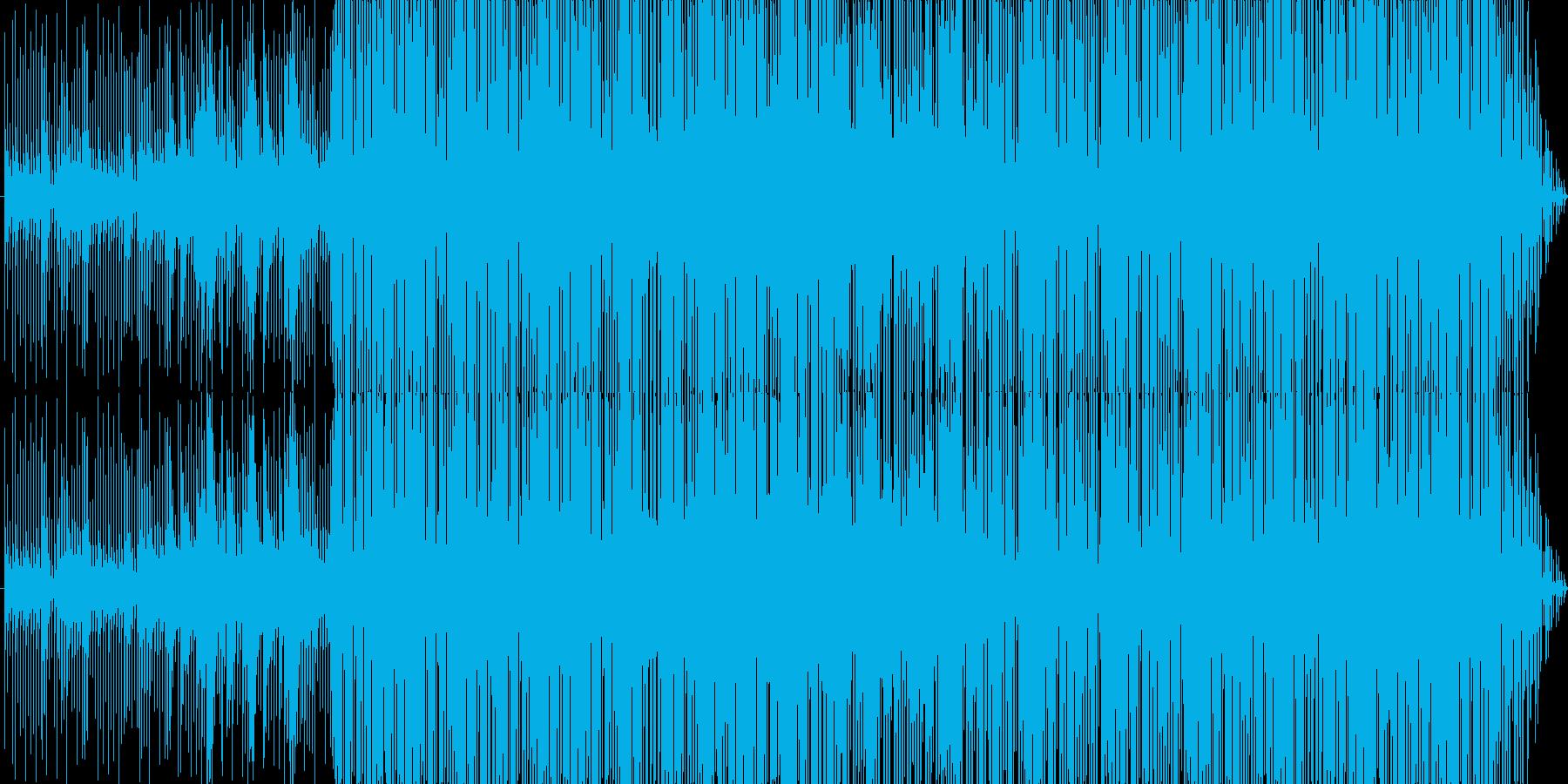 クールなHIPHOPビートの再生済みの波形