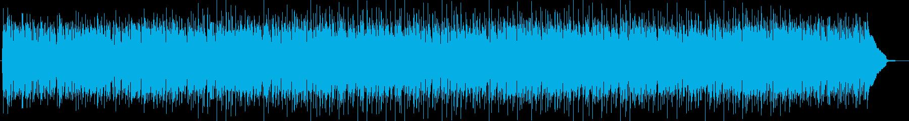 安らぎのアコースティックギターサウンドの再生済みの波形
