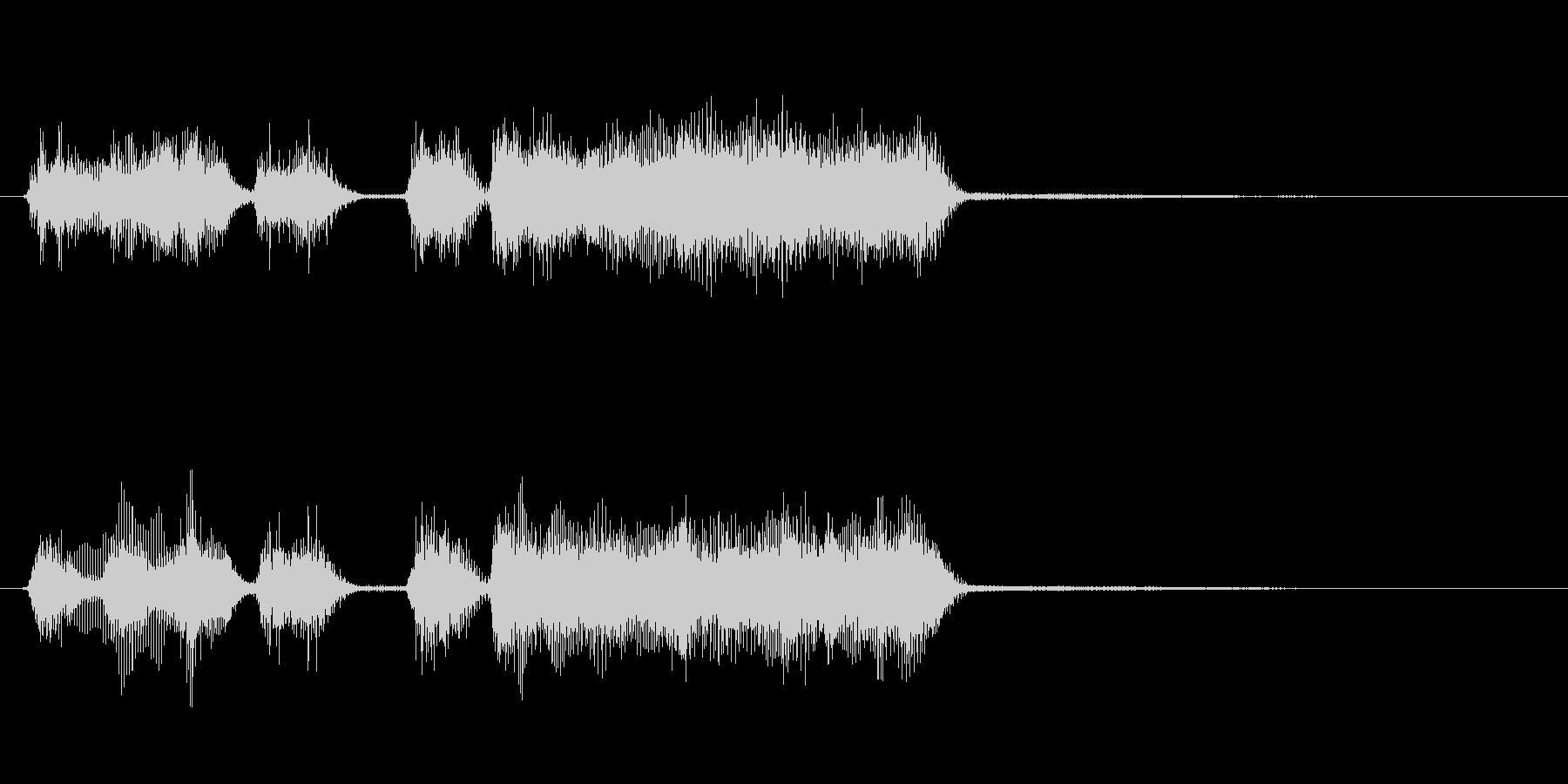 玩具系ファンファーレ-12の未再生の波形