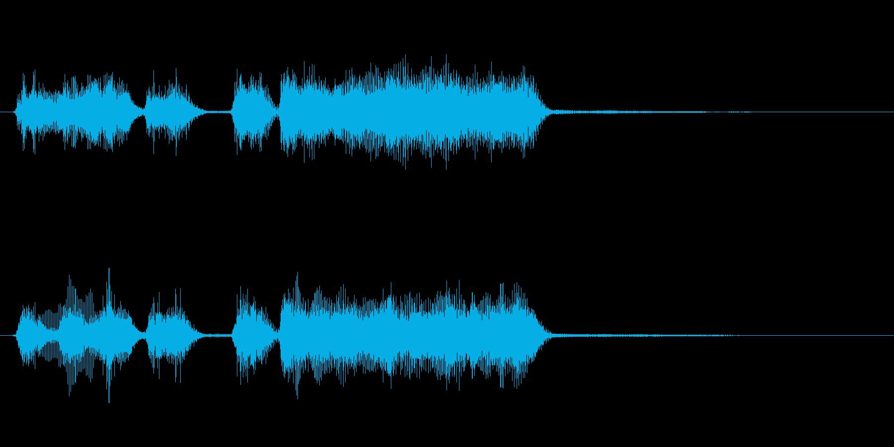 玩具系ファンファーレ-12の再生済みの波形