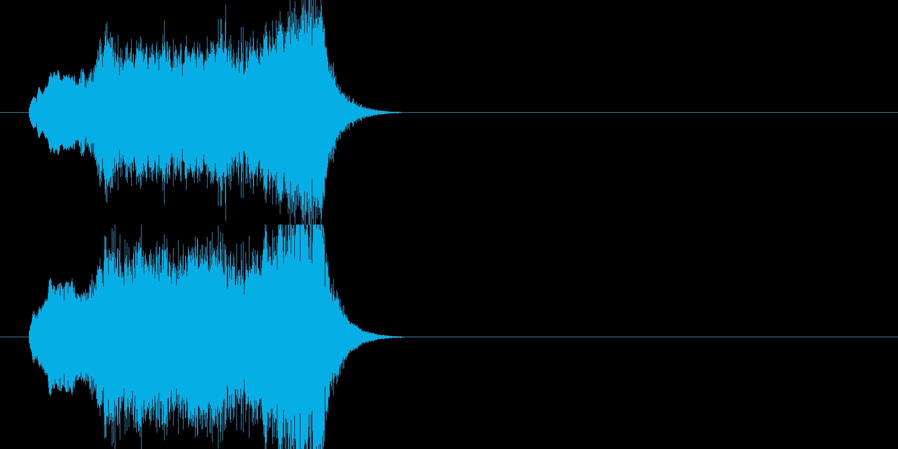 クラシックジングルの再生済みの波形