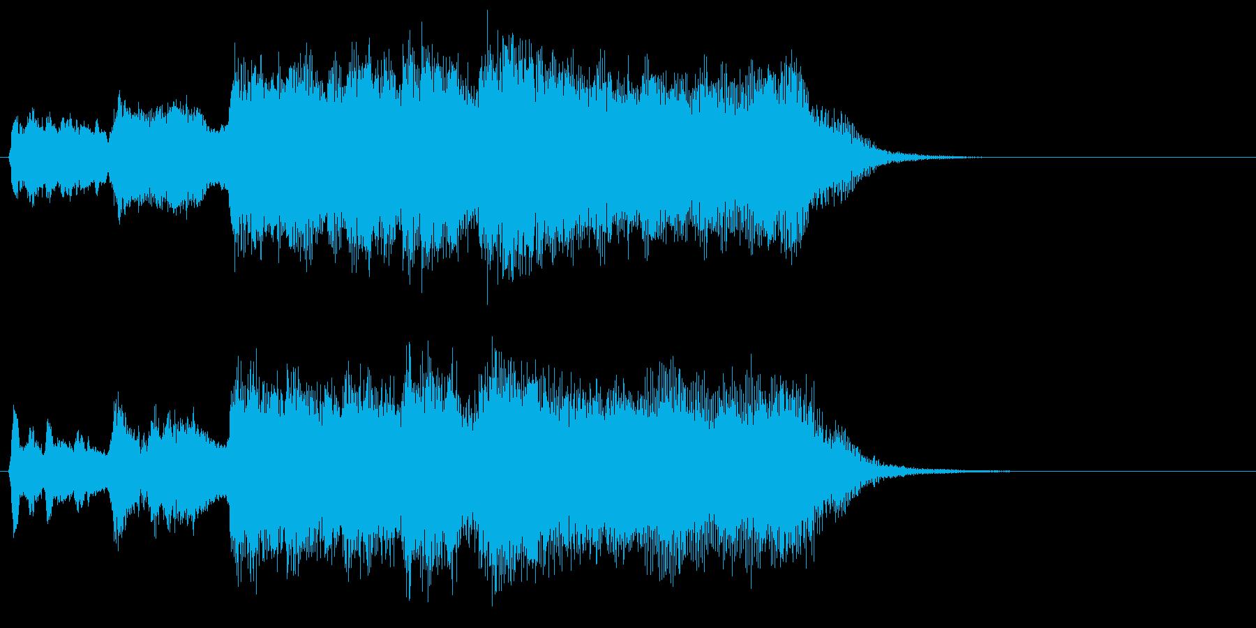 発表!金賞!金管ファンファーレの再生済みの波形