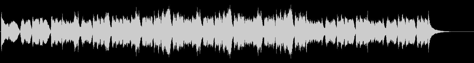 緊張感のあるリアルオーケストラサウンドの未再生の波形