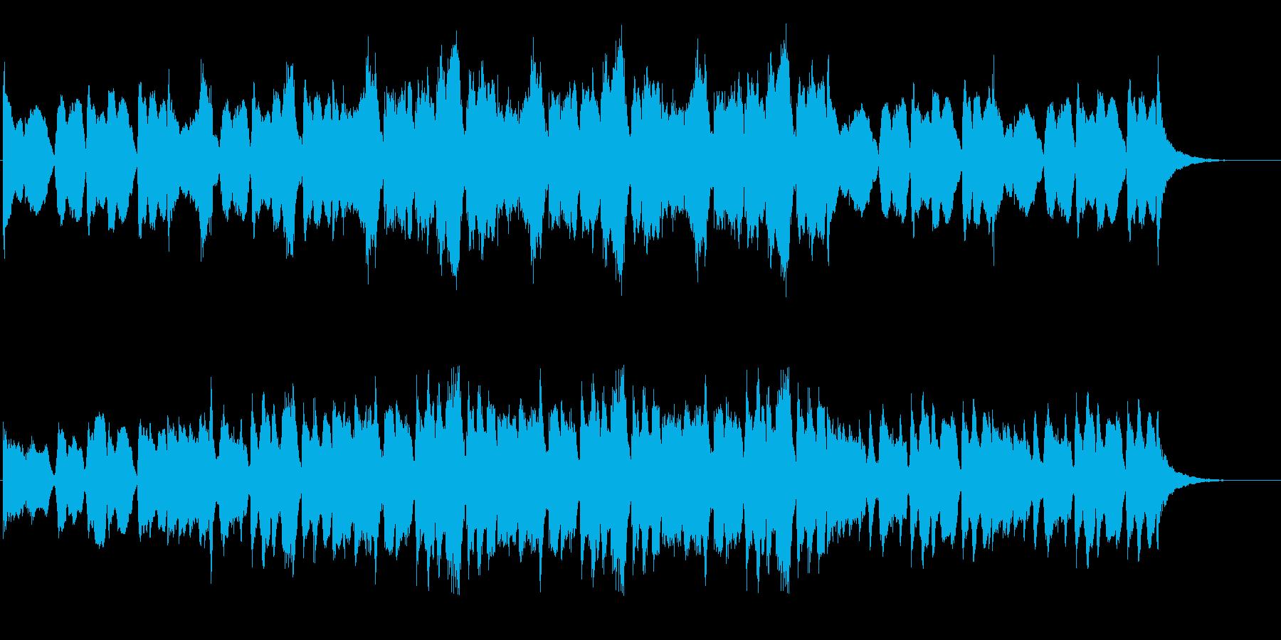 緊張感のあるリアルオーケストラサウンドの再生済みの波形