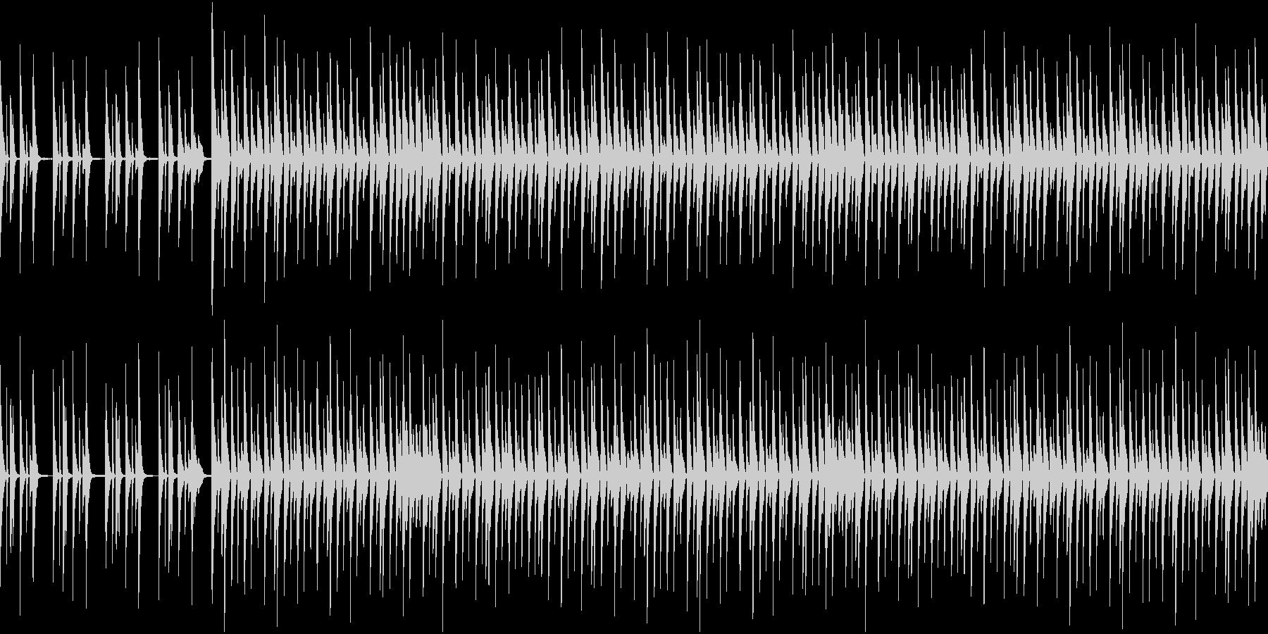 予備校CM風ピコピコサウンドの未再生の波形