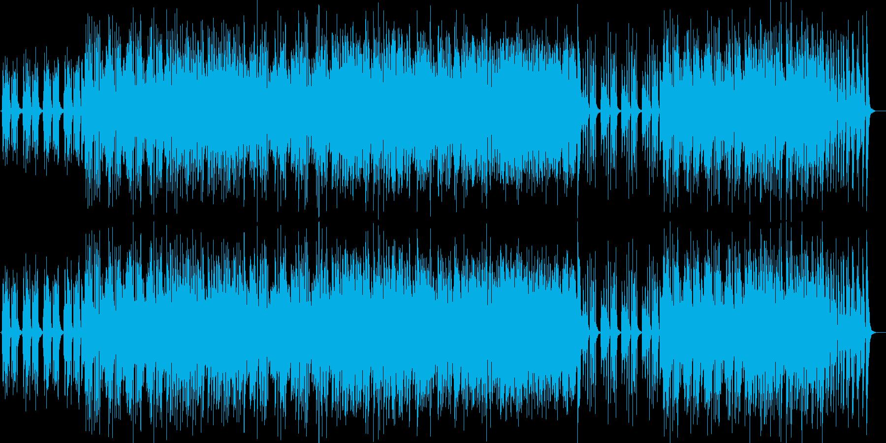 リゾート気分のギターシンセジャズポップの再生済みの波形