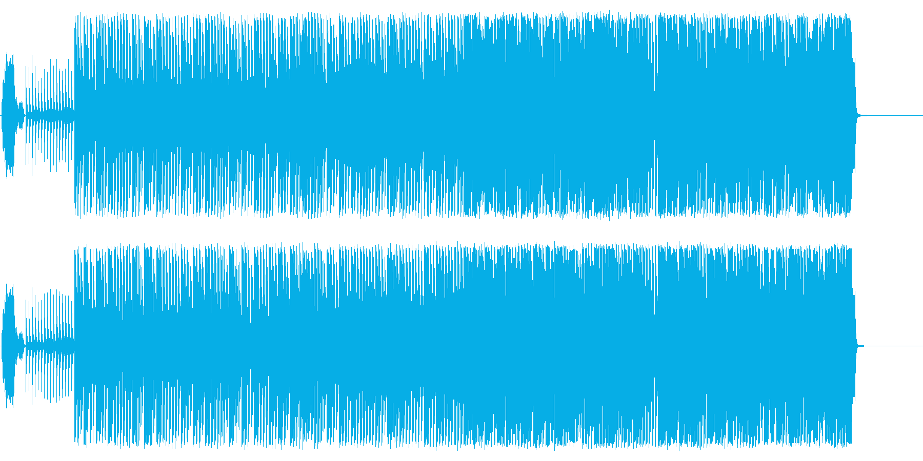 CM 明るい わくわく 楽しいの再生済みの波形