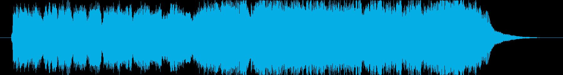 「もろびとこぞりて」の短尺です。の再生済みの波形