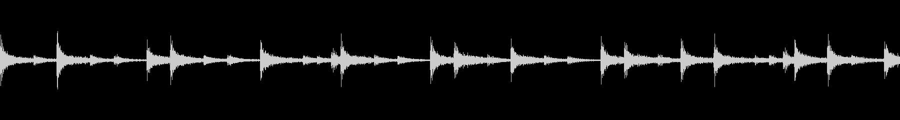 スネア軽快ファンクフレーズ(ループ可)の未再生の波形
