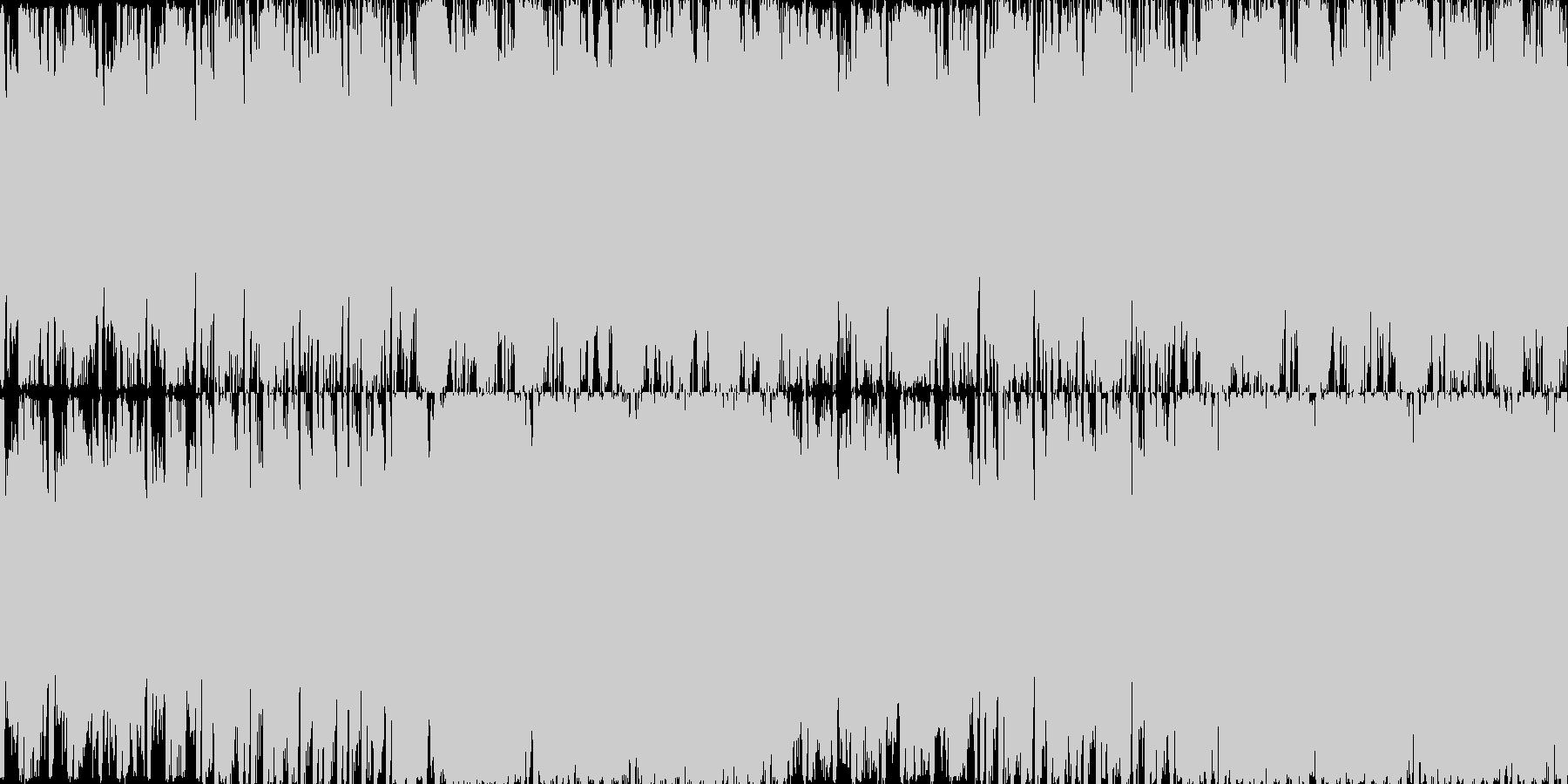 アルペジオフレーズとシンセパッドの組み…の未再生の波形
