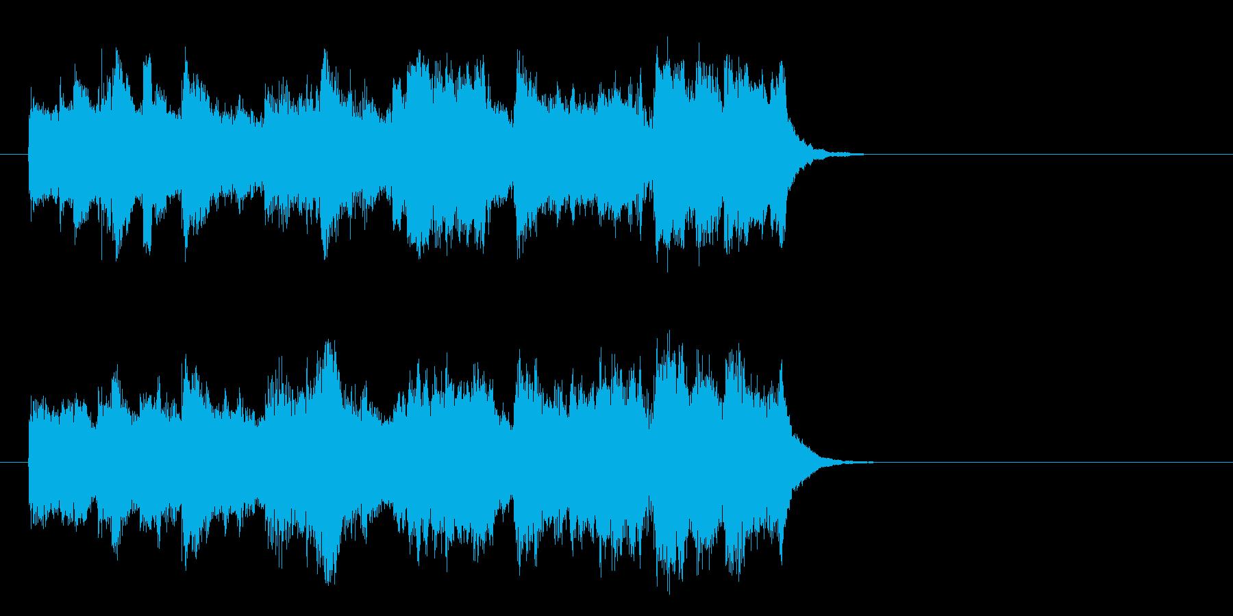 懐かしの歌謡ジャズ風楽曲(イントロ)の再生済みの波形