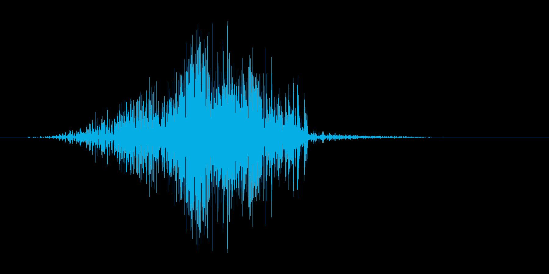 ジッパー(開ける、カバン、チャック)の再生済みの波形