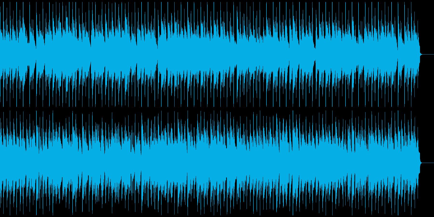 表彰式にヘンデル ウクレレ メロ抜きの再生済みの波形