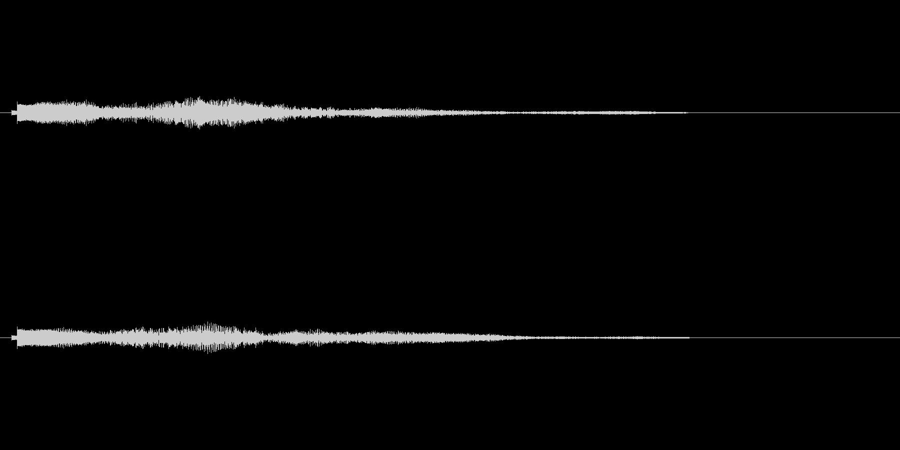 シンセコードによるサウンドロゴ4の未再生の波形