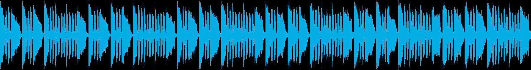 アクアリウム出来たな曲(ループ仕様)の再生済みの波形