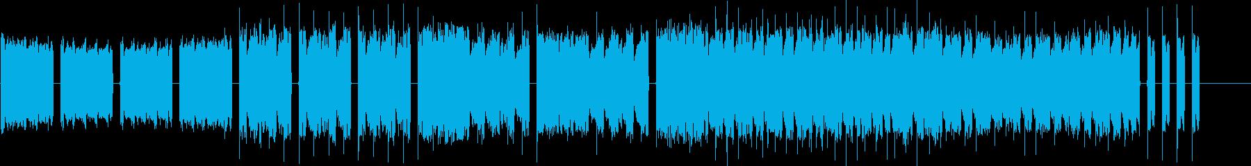 ピコピコ音楽です。宜しくお願い致します。の再生済みの波形