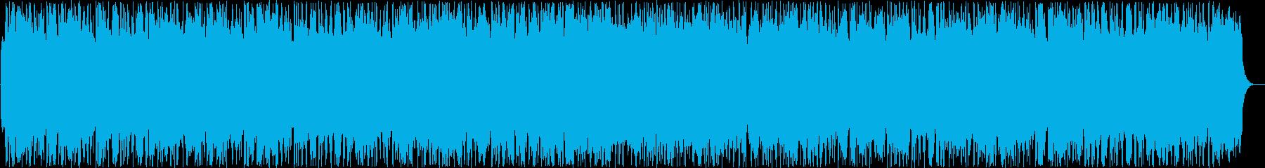 はずむようなシンセ打楽器などのサウンドの再生済みの波形