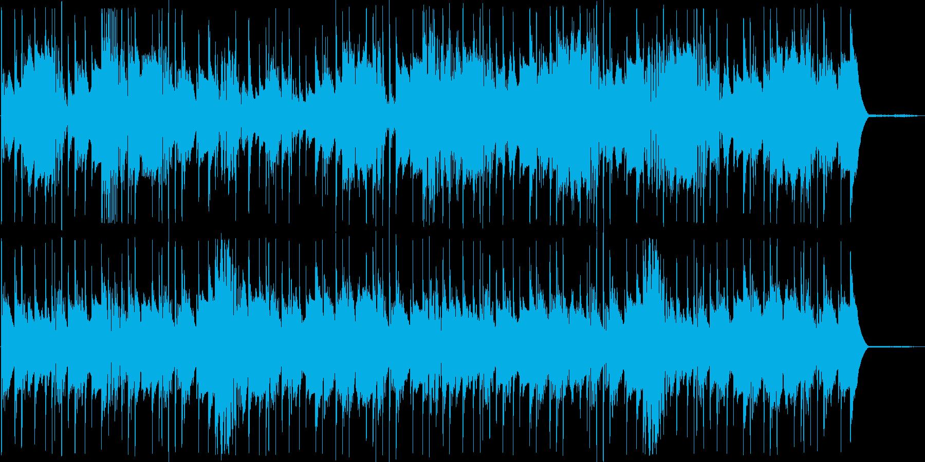 クイズ等に使えそうなドラムンベースの再生済みの波形