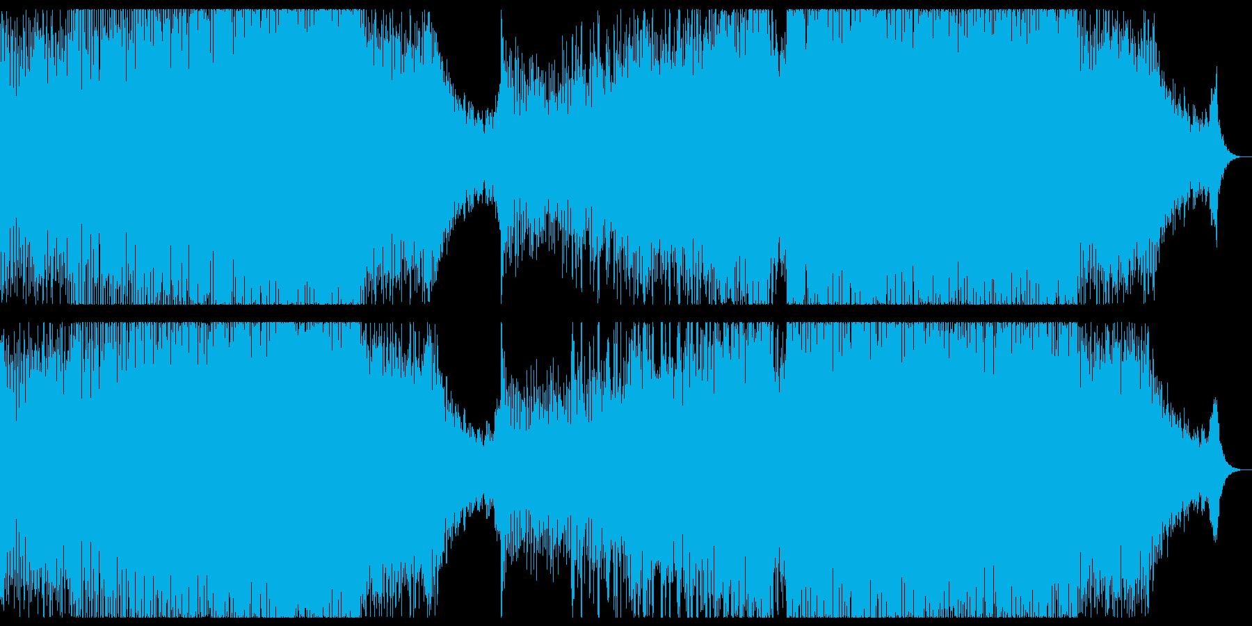 ピアノの切ないプログレッシブハウス。の再生済みの波形