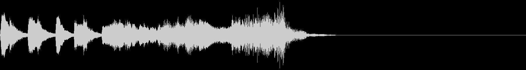ゴリウォーグのケークウォーク~イントロ~の未再生の波形