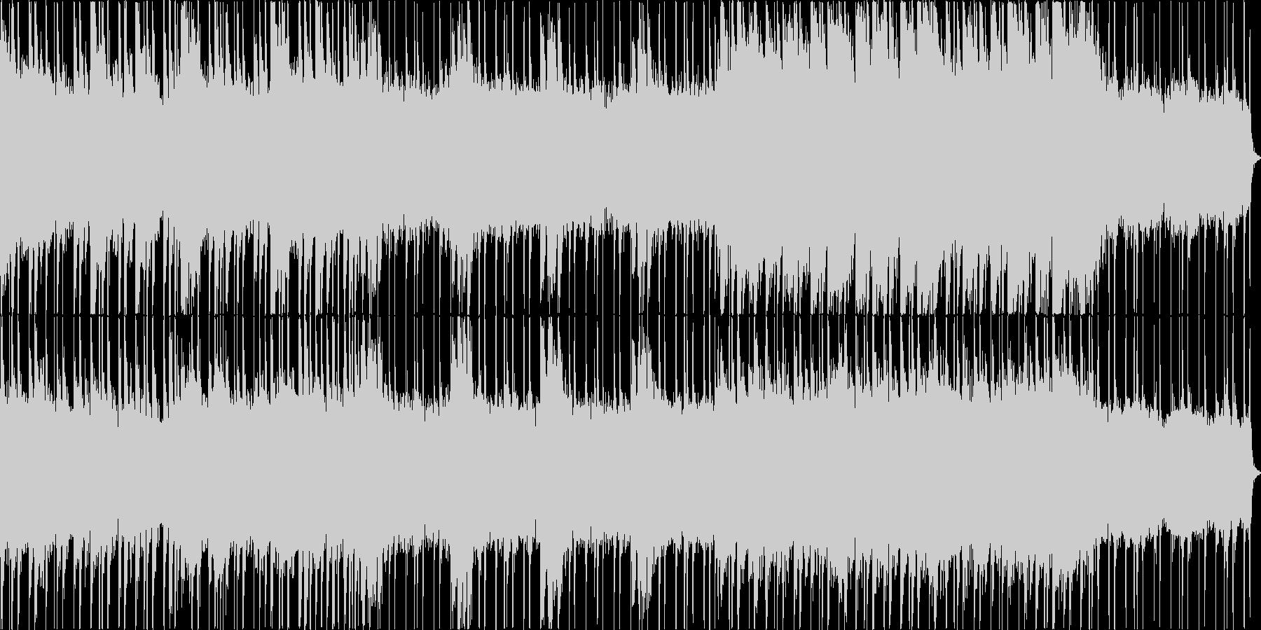 シンセが入っている明るい感じのロックな…の未再生の波形