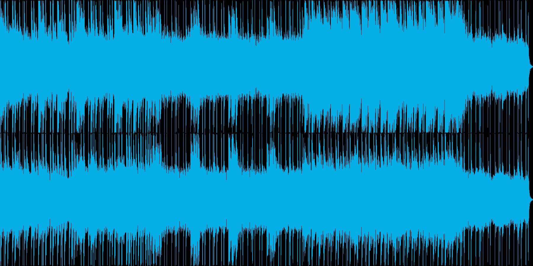 シンセが入っている明るい感じのロックな…の再生済みの波形