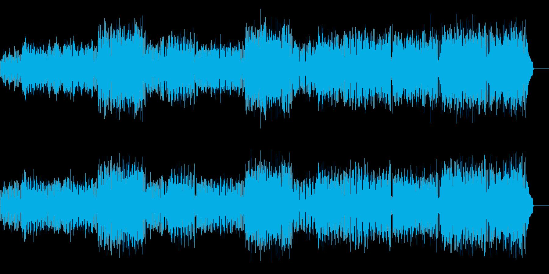 透明感と輝きに満ちた誠実なボサノバの再生済みの波形