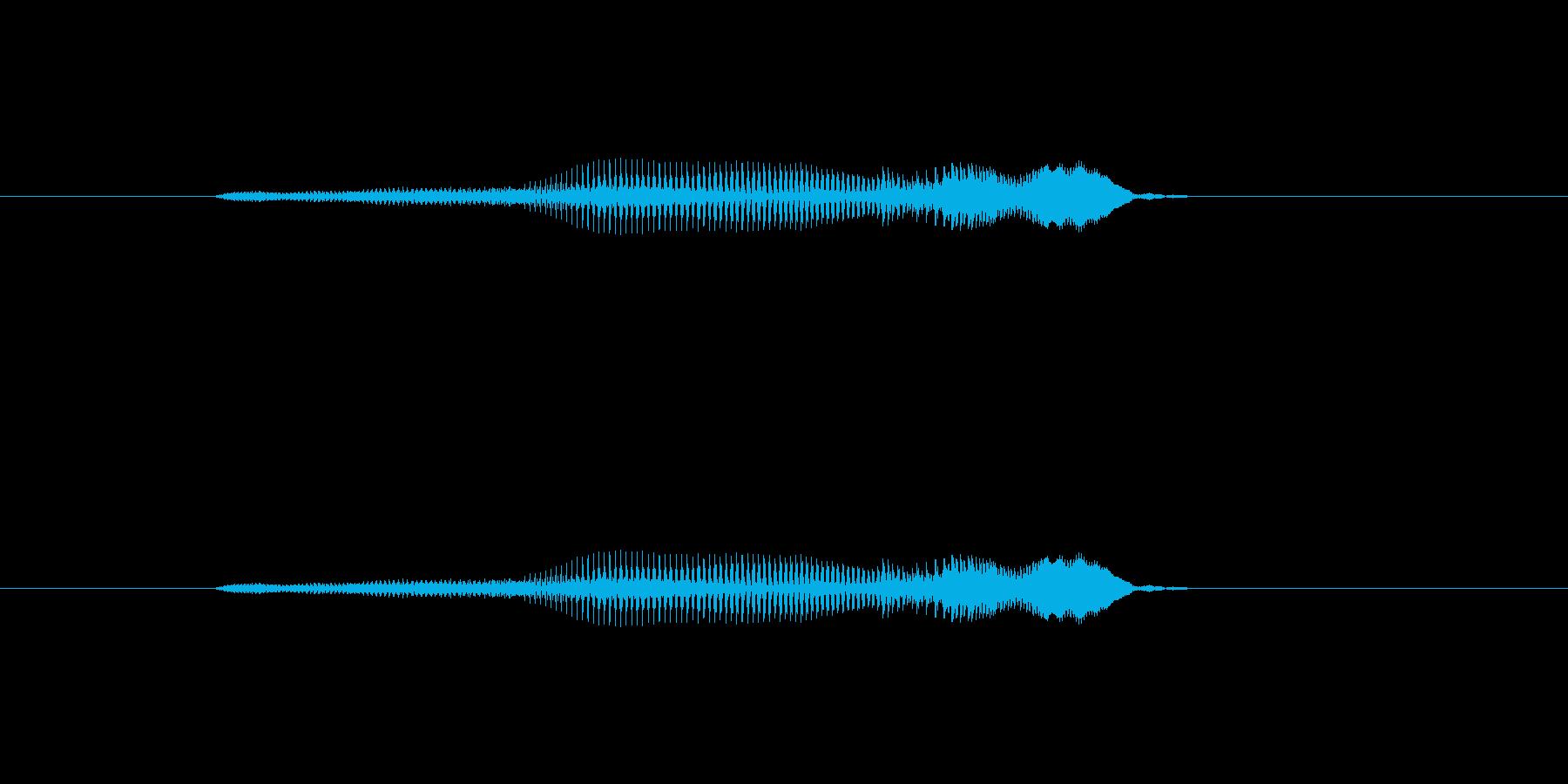 ニャー_猫声-08の再生済みの波形