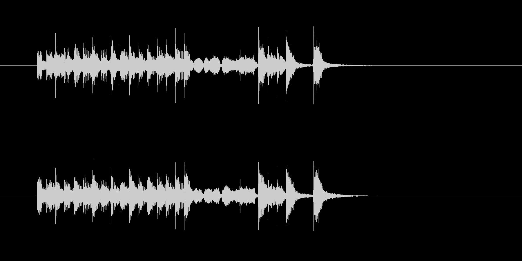 コミカル トランペット 明るい 楽しい の未再生の波形