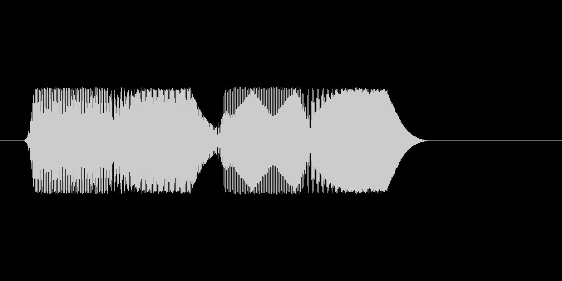 ファミコン風効果音決定音系です 19の未再生の波形
