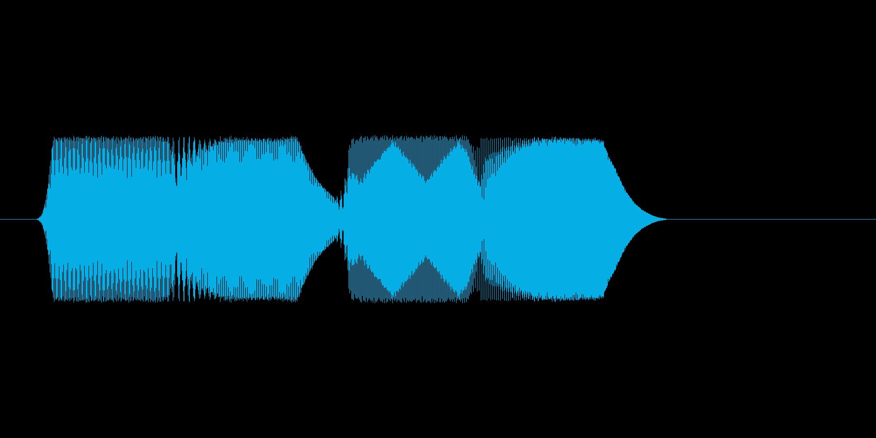 ファミコン風効果音決定音系です 19の再生済みの波形