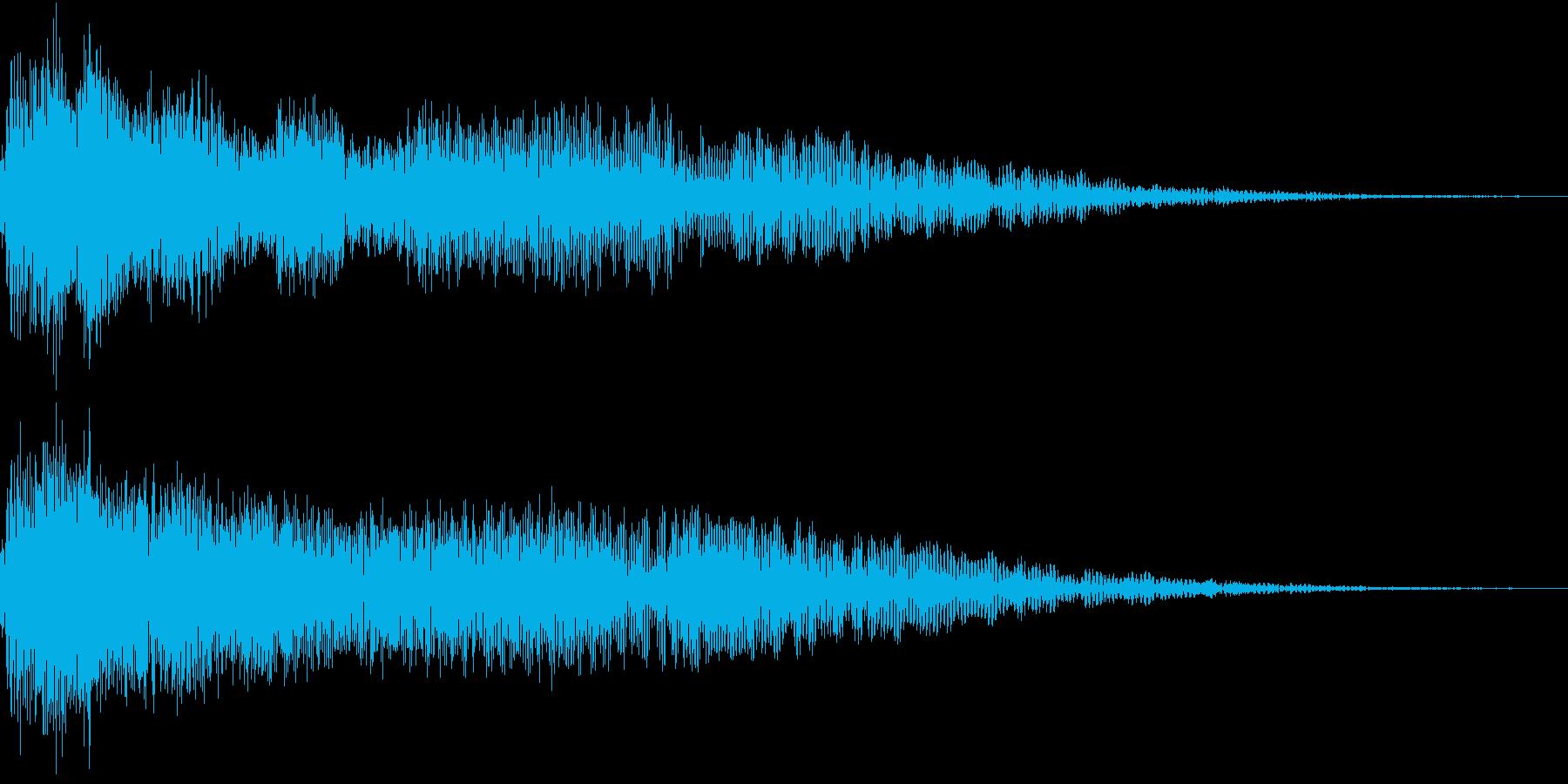InvaderBuzz 発砲音 5の再生済みの波形