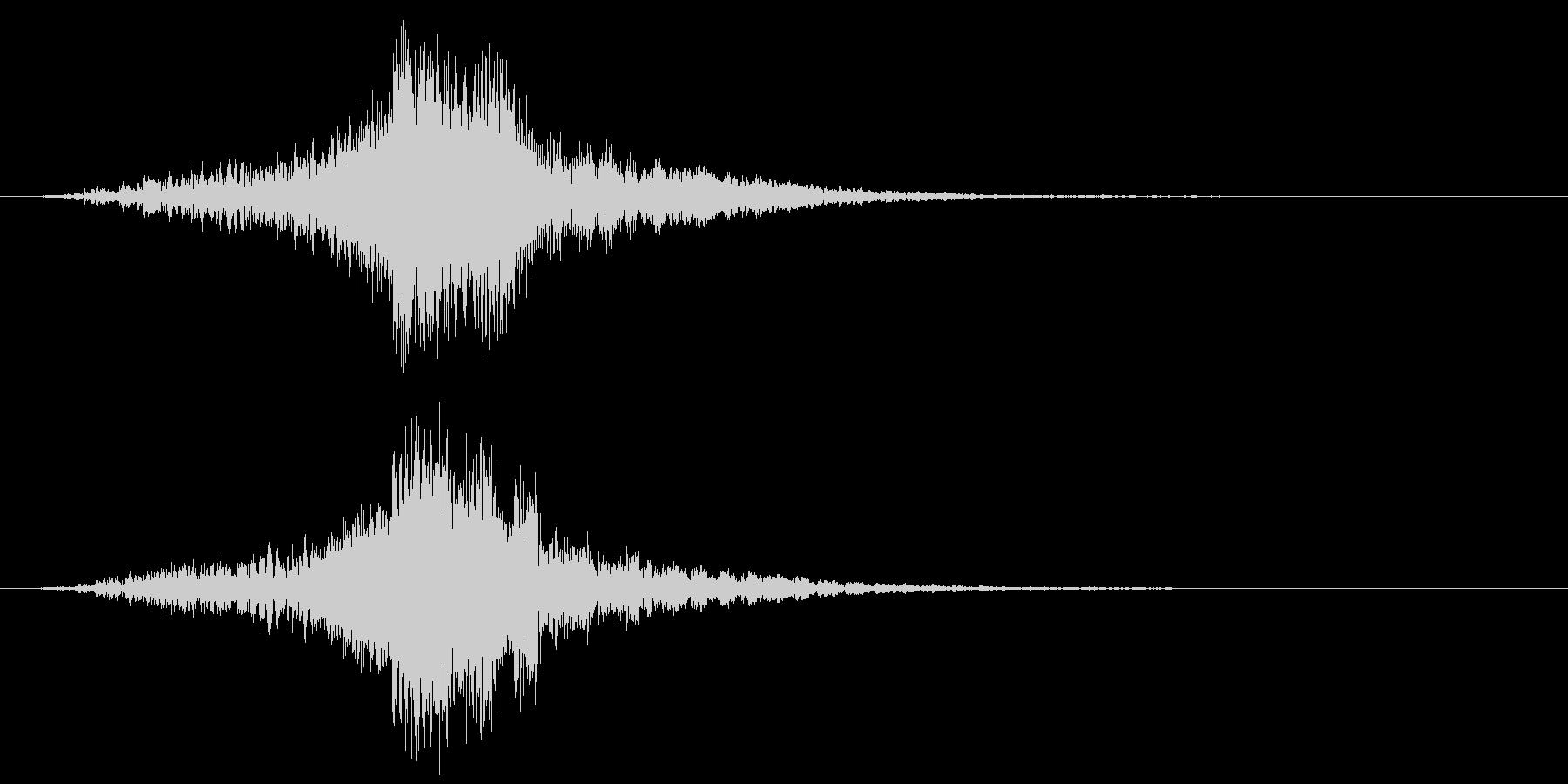 映画に合う効果音05の未再生の波形